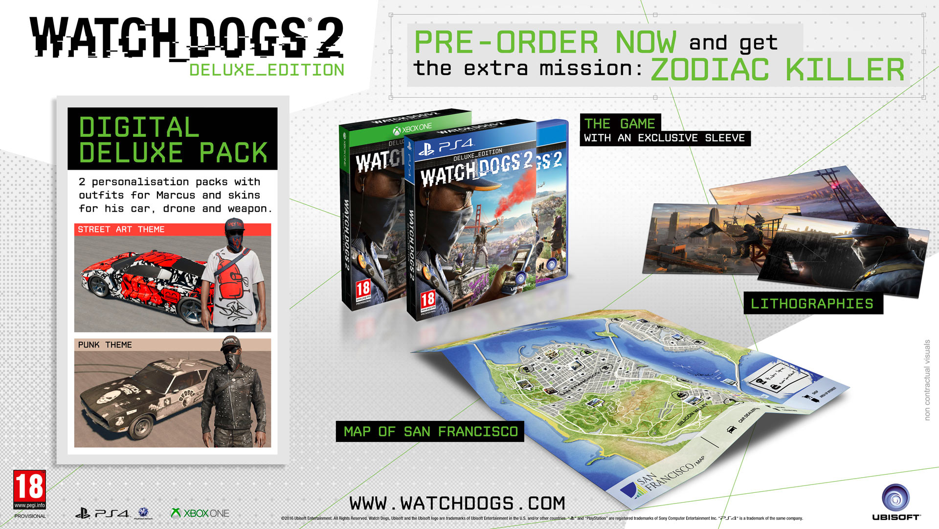 Watch Dogs 2 - Deluxe Edition.
