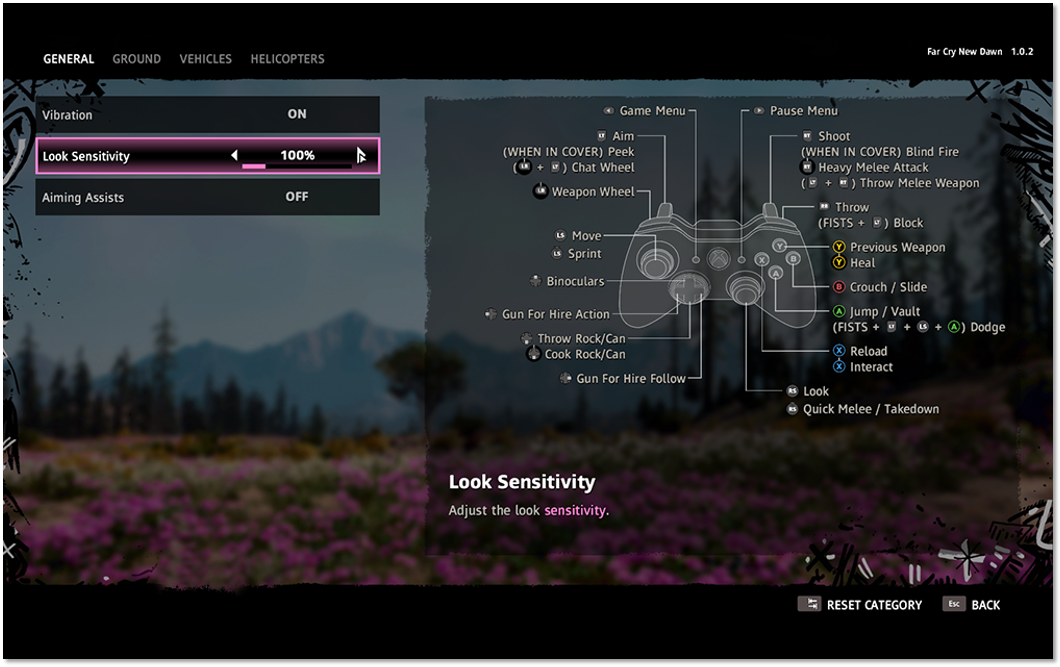 Button Mapping In Far Cry New Dawn Ubisoft Support