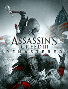 Assassin's Creed III arte de la caja remasterizada