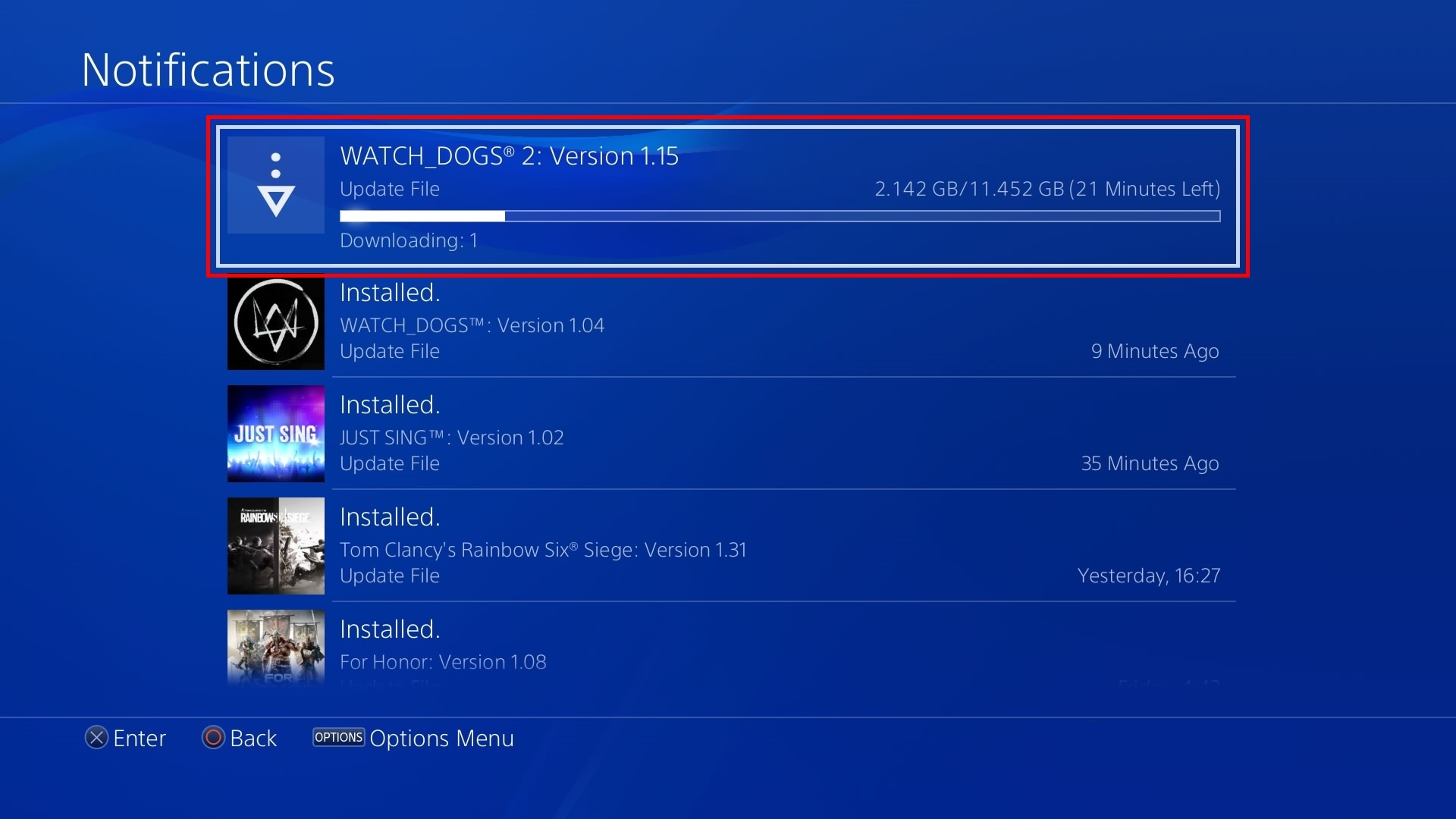 How long does it take a ps4 game to download