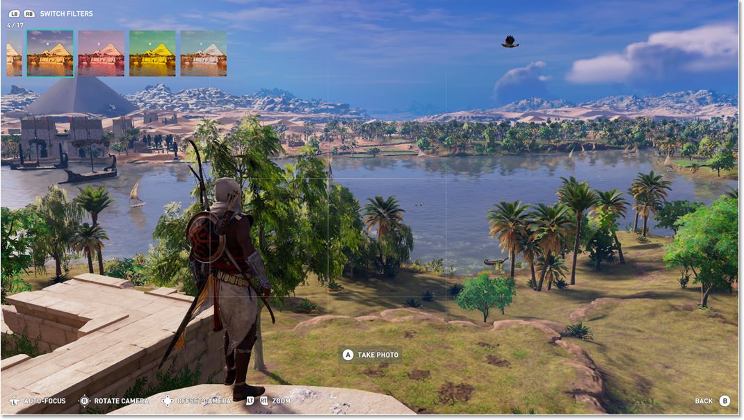 Photo Mode In Assassin S Creed Origins Ubisoft Support