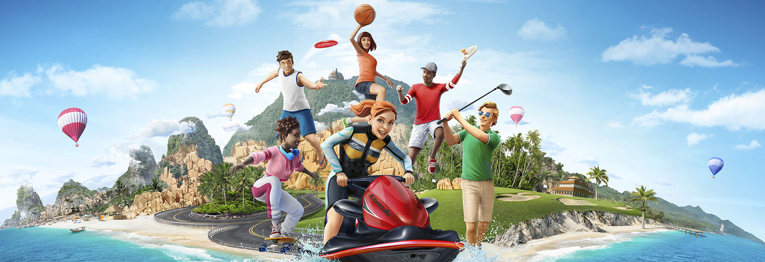 Sports Party splash art header
