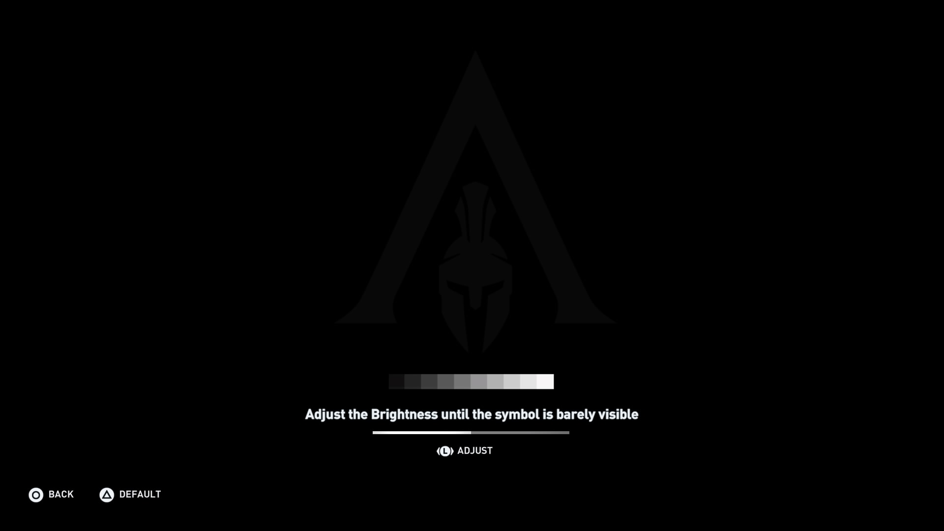 Setting Screen S Brightness In Assassin S Creed Odyssey Ubisoft