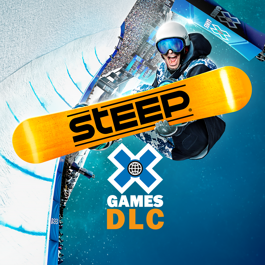 X-Games DLC splash art showing snowboarding trick