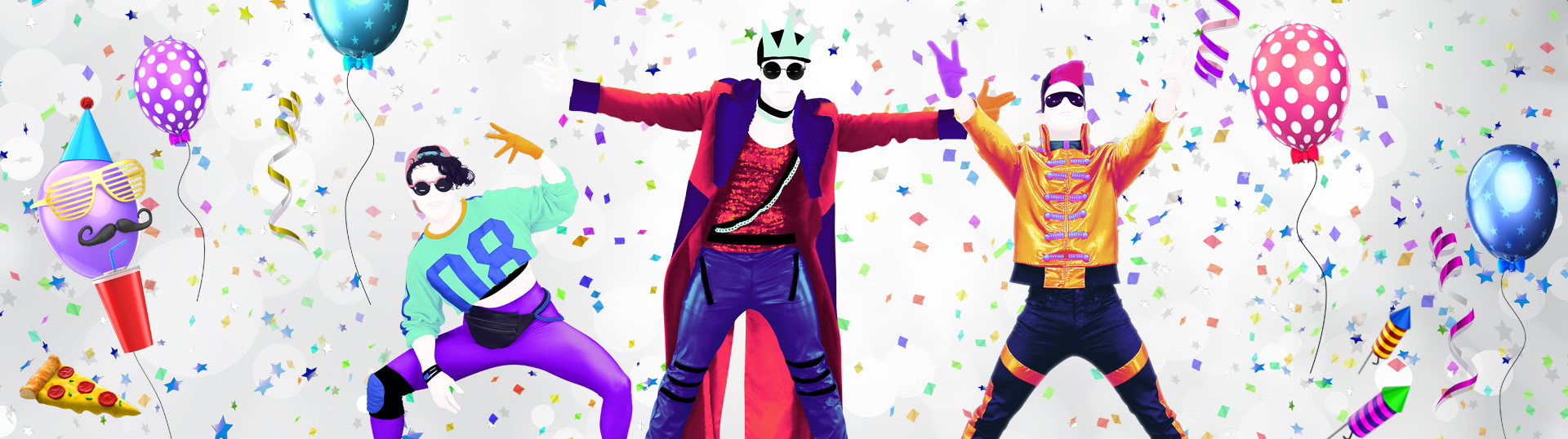 Just Dance 2019 splash art