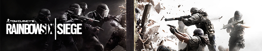 Rainbow Six: Siege splash art banner
