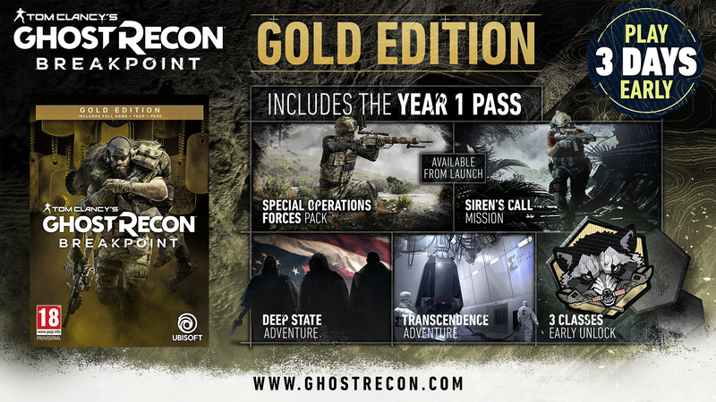 Content of the Gold Edition