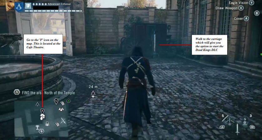 Assassin S Creed Unity Dead Kings Dlc Ubisoft Support